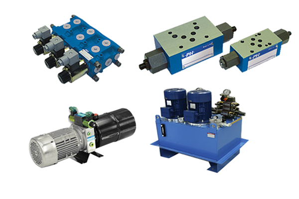 Components for hydraulics